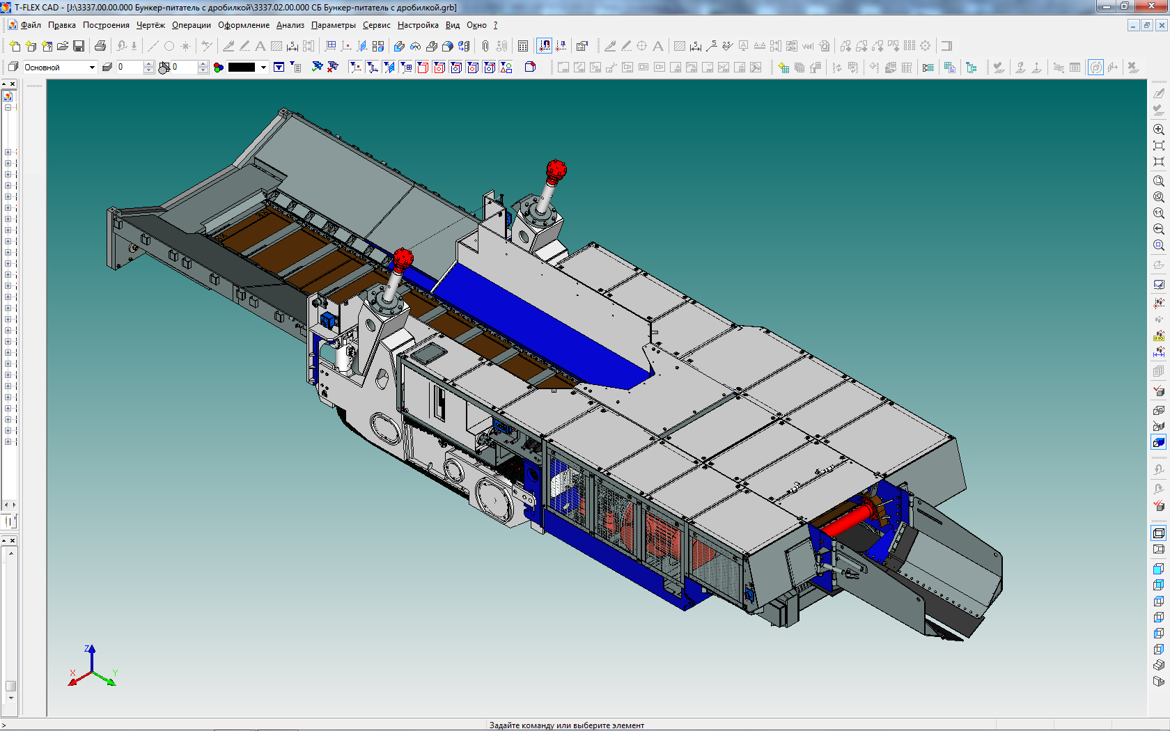 Development of software system for the production of marine equipment